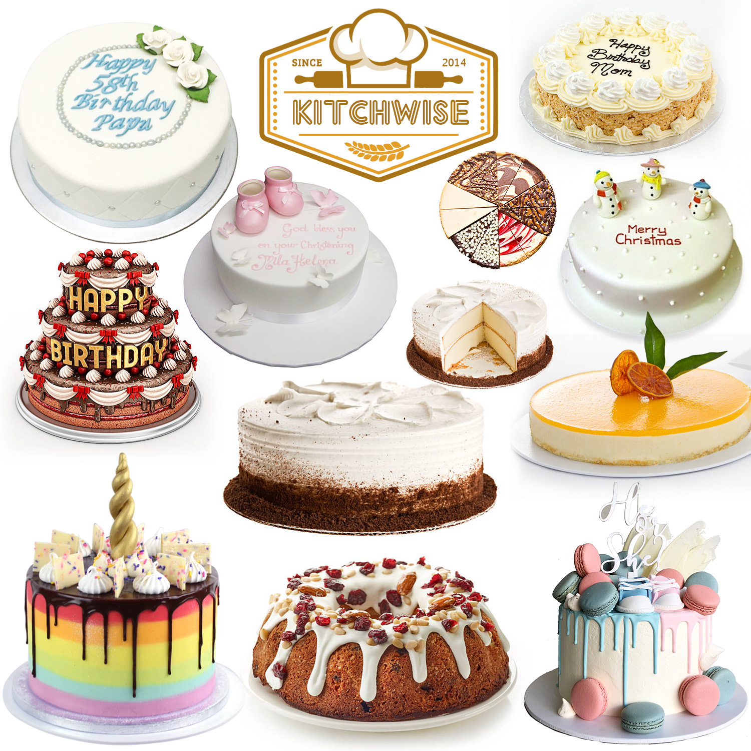 Kitchwise® Cake Decorating Turntable, 166 Pack with ...